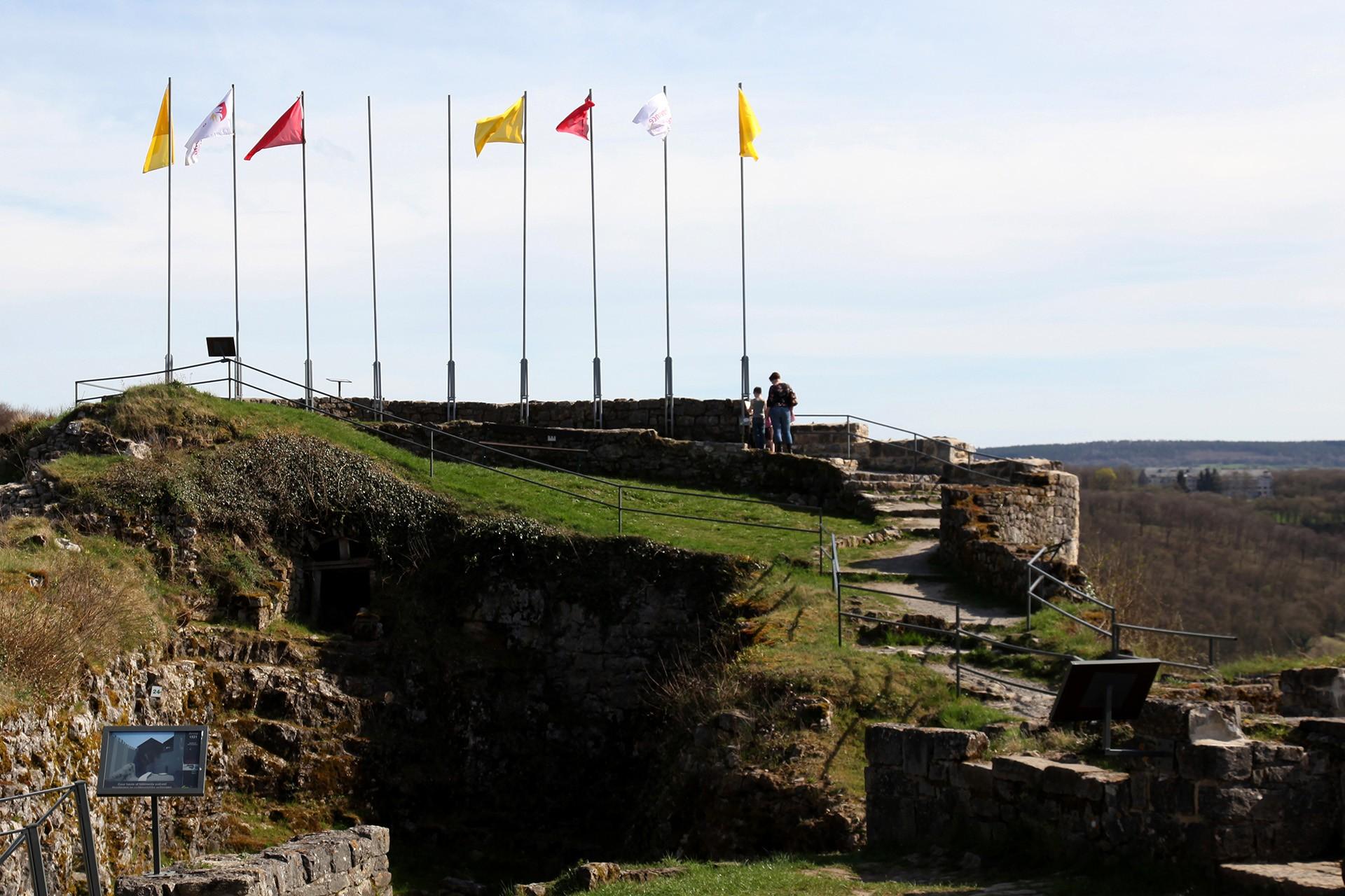 Burg von Logne
