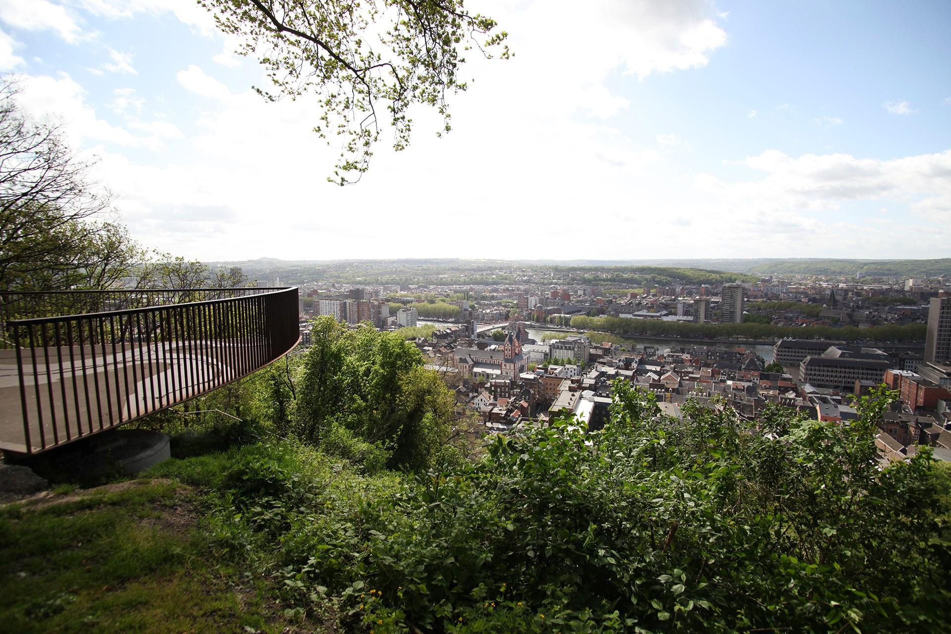 Coteaux de la Citadelle - Liège - Vue panoramique