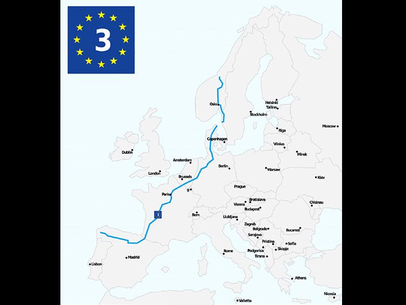 EuroVelo 3 « Véloroute des Pèlerins »