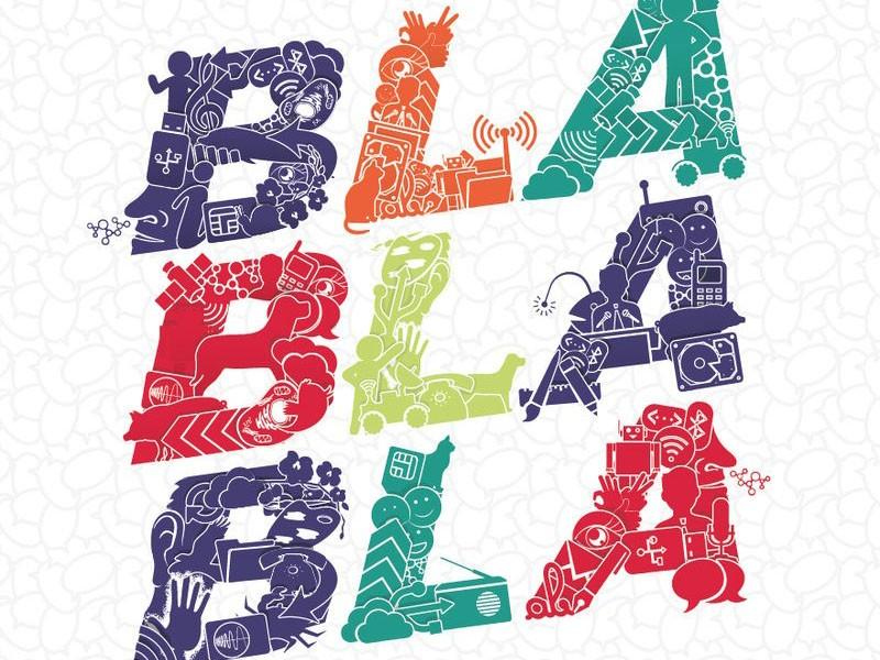Expo : Bla Bla Bla - un monde de communications
