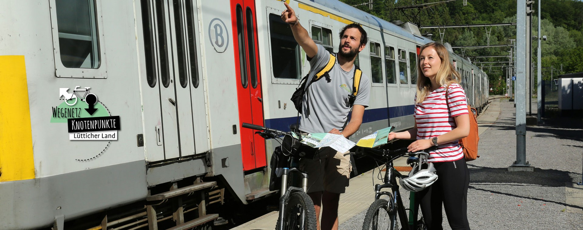 Fahrrad–Zug & Landschaften | © FTPL-Patrice Fagnoul