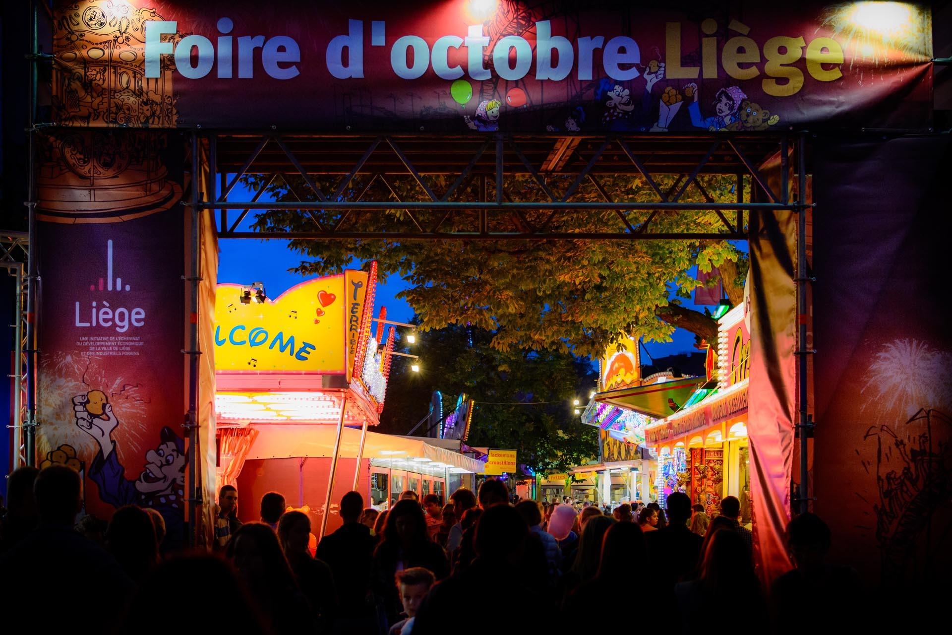 Foire d'octobre à Liège