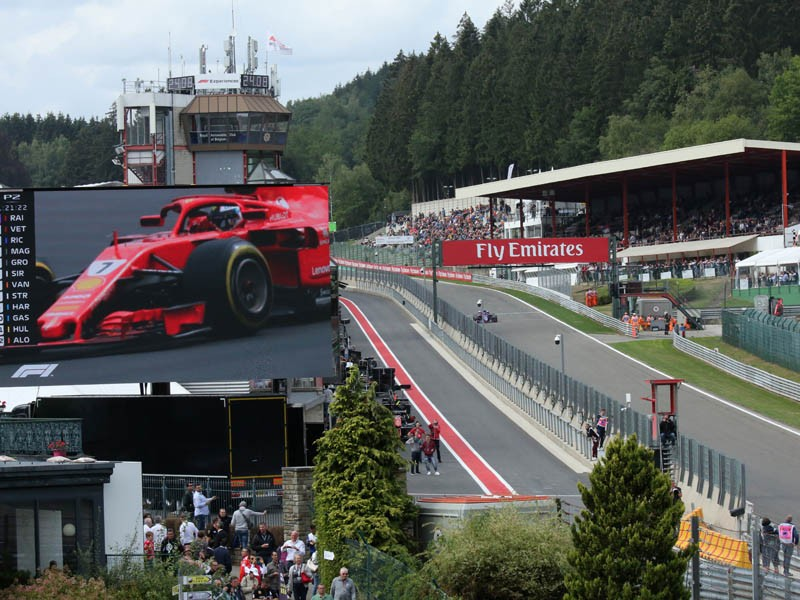 Formule 1 Grand Prix - Spa-Francorchamps
