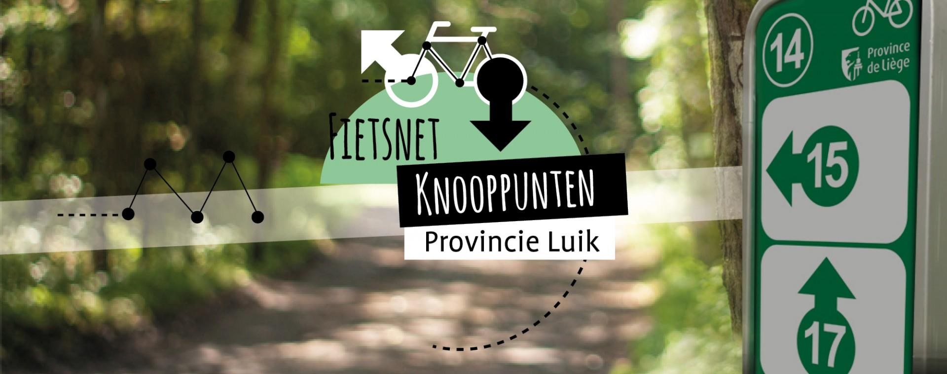 Knooppuntennetwerk van de provincie Luik | © FTPL