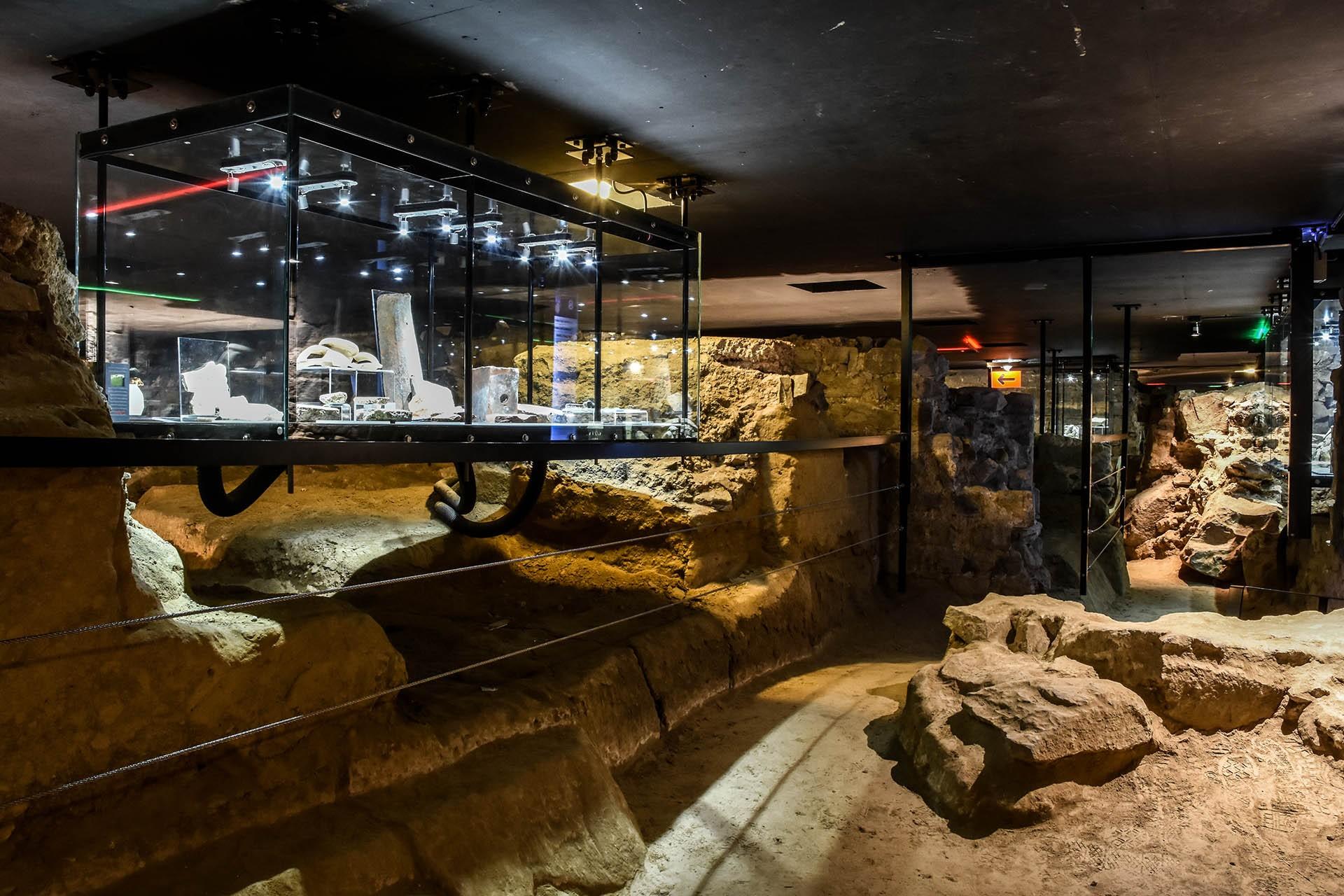 Das Archéoforum von Lüttich
