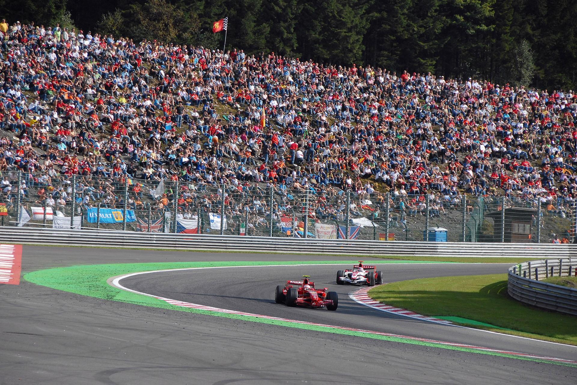 Formule 1 - Spa-Francorchamps