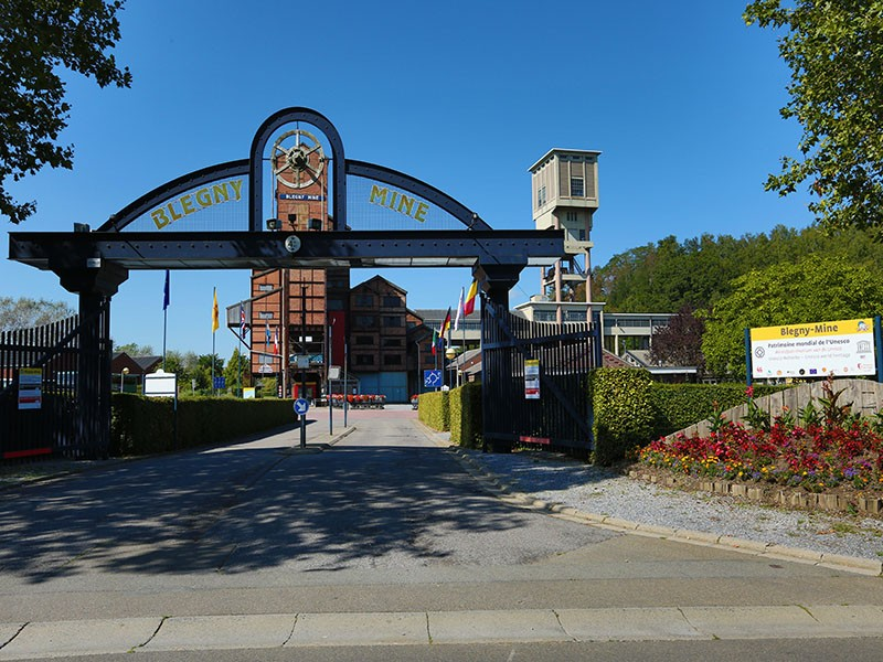 La route UNESCO - Blegny-Mine
