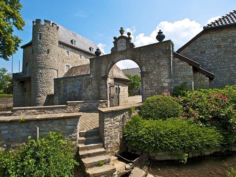 La route UNESCO - Château de Raeren