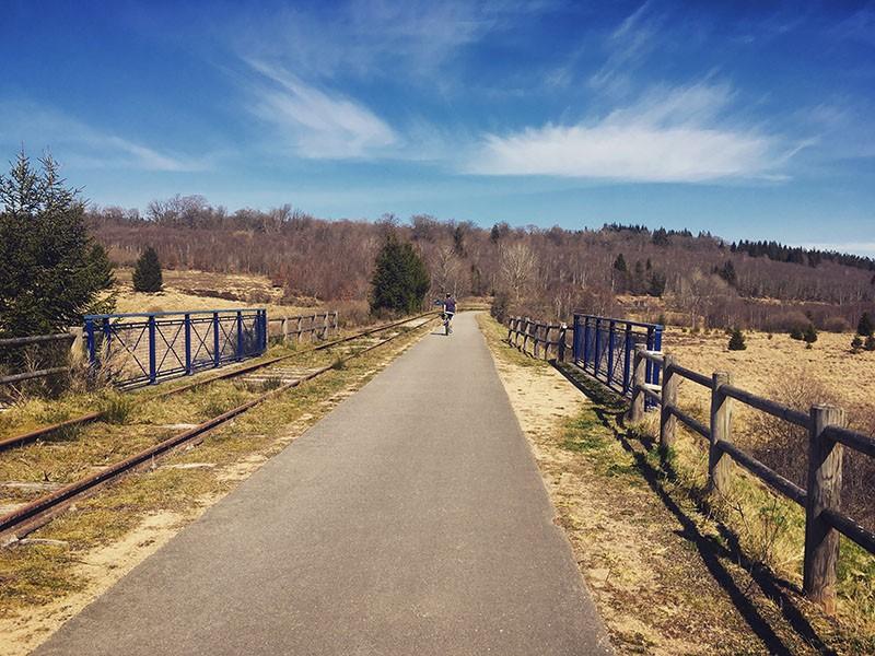 Summer bike rides - The short High Fens circuit