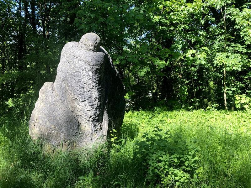 Les balades vélo de l'été - La Vallée de l'Ourthe - Musée de la sculpture