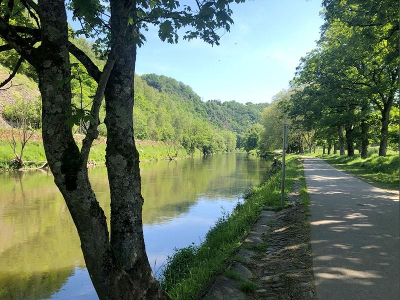 Les balades vélo de l'été - La Vallée de l'Ourthe - Ravel de Poulseur
