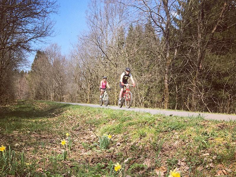 Die Fahrradtouren des Sommers - La Vecquée