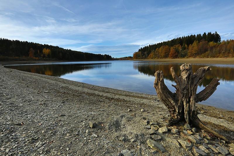 Zomerse fietsuitstappen - Het meer van Bütgenbach