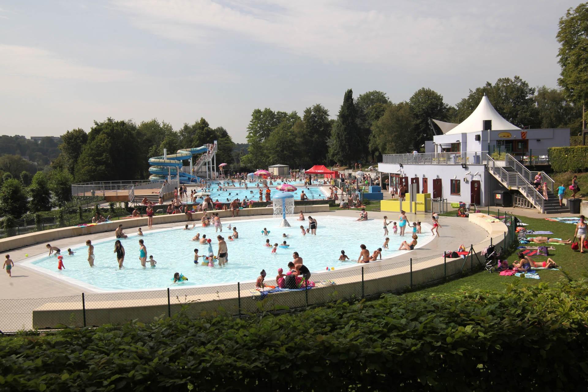 Lieux de baignade extérieur - Complexe de piscines - Domaine provincial de Wégimont
