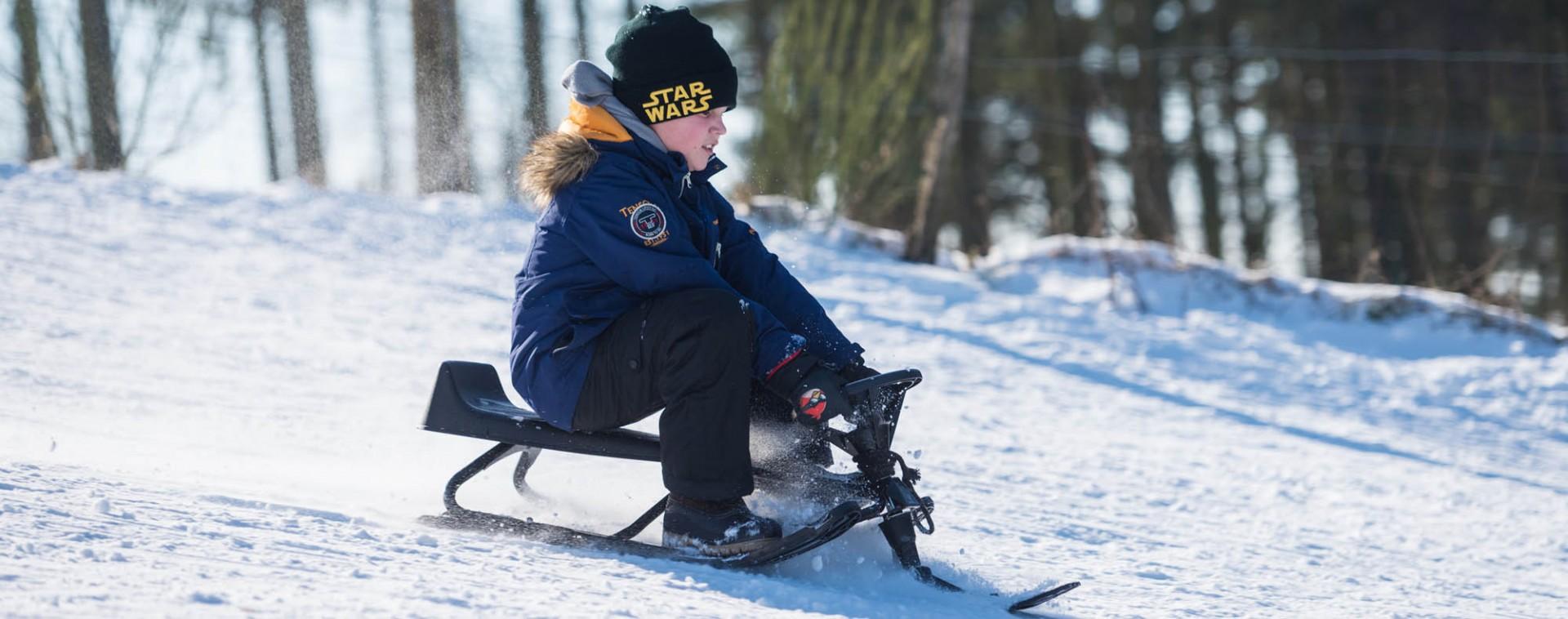 Lieux où jouer dans la neige avec les enfants en province de Liège | © Ostbelgien.eu - Dominik Ketz