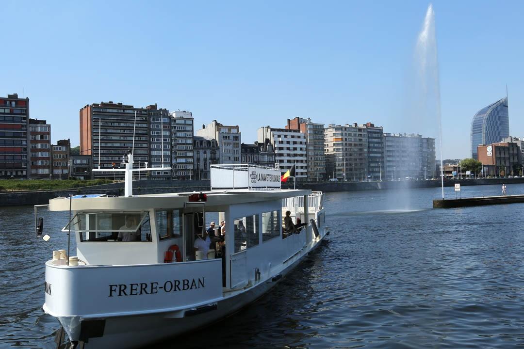 Der Fluss-Shuttle - Lüttich | © FTPL-Patrice Fagnoul