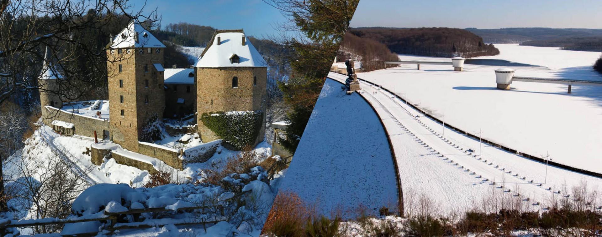 Notre destination province de Liège - hiver