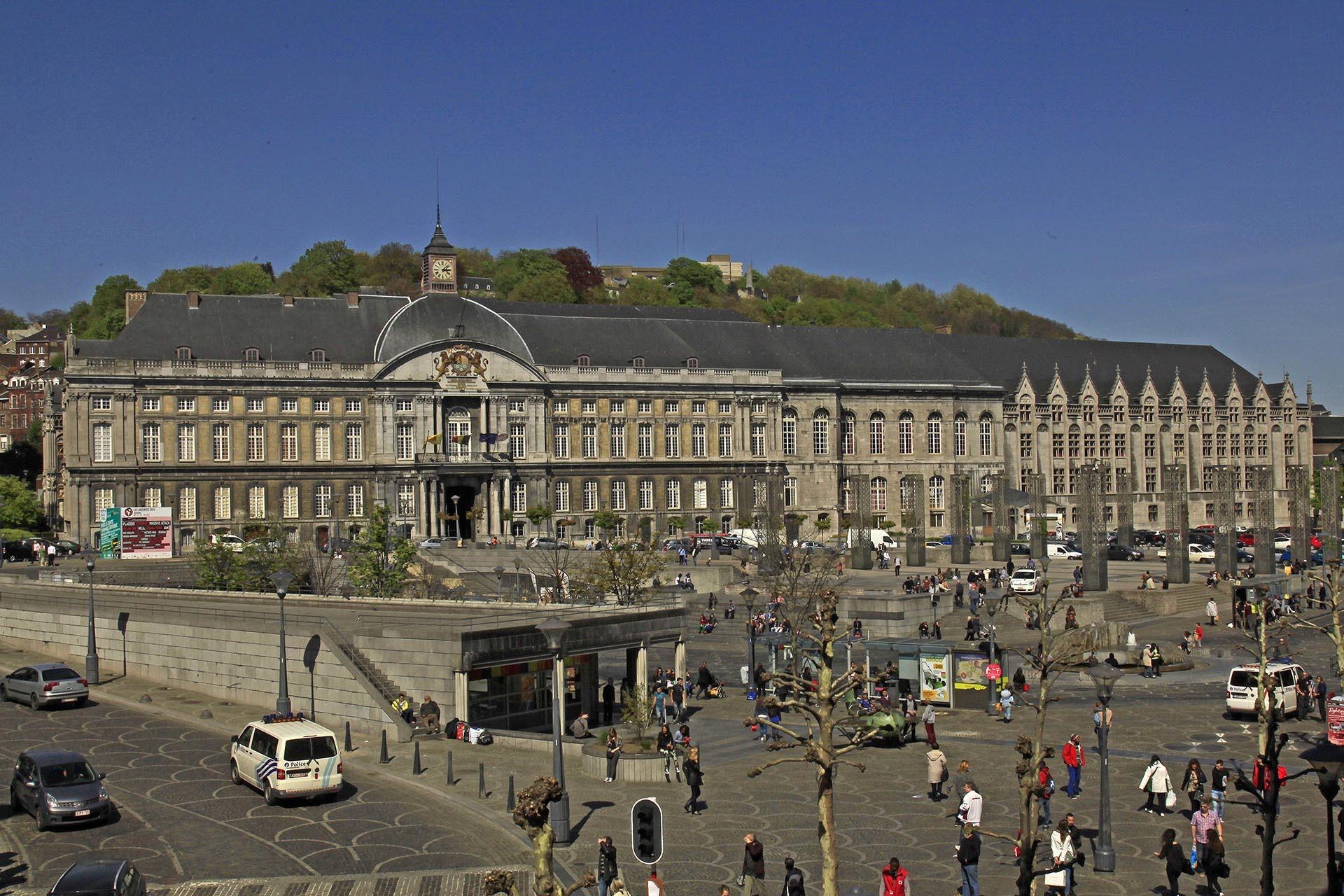 Prince-Bishops' Palace in Liège
