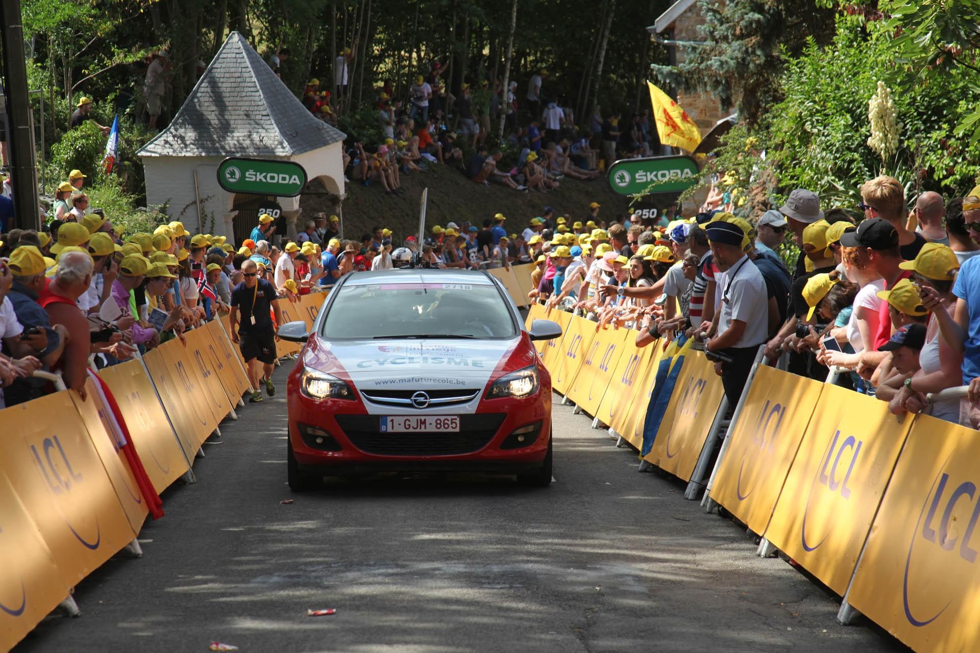 Passage du Tour de France en province de Liège