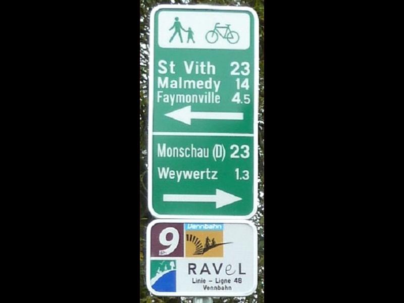 Réseau RAVeL - Vennbahn