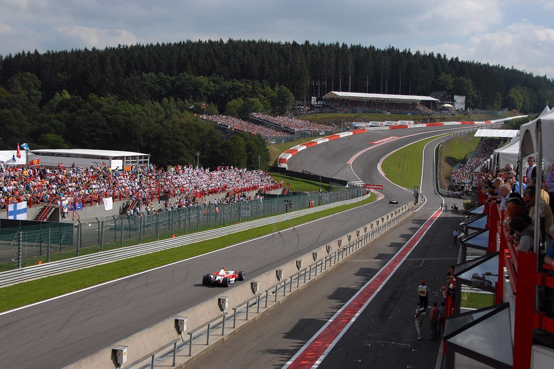 Raidillon Eau Rouge - Spa Francorchamps