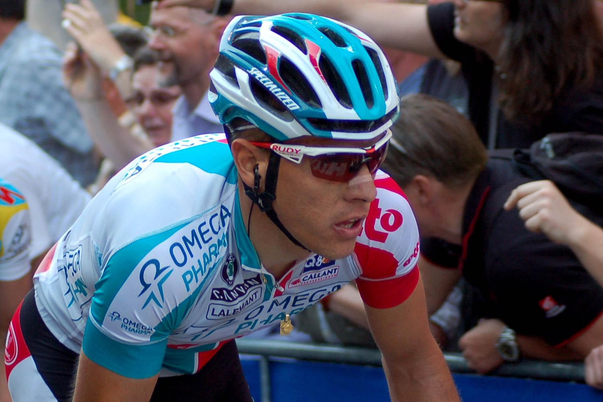 Sportifs célèbres nés en province de Liège - Philippe Gilbert