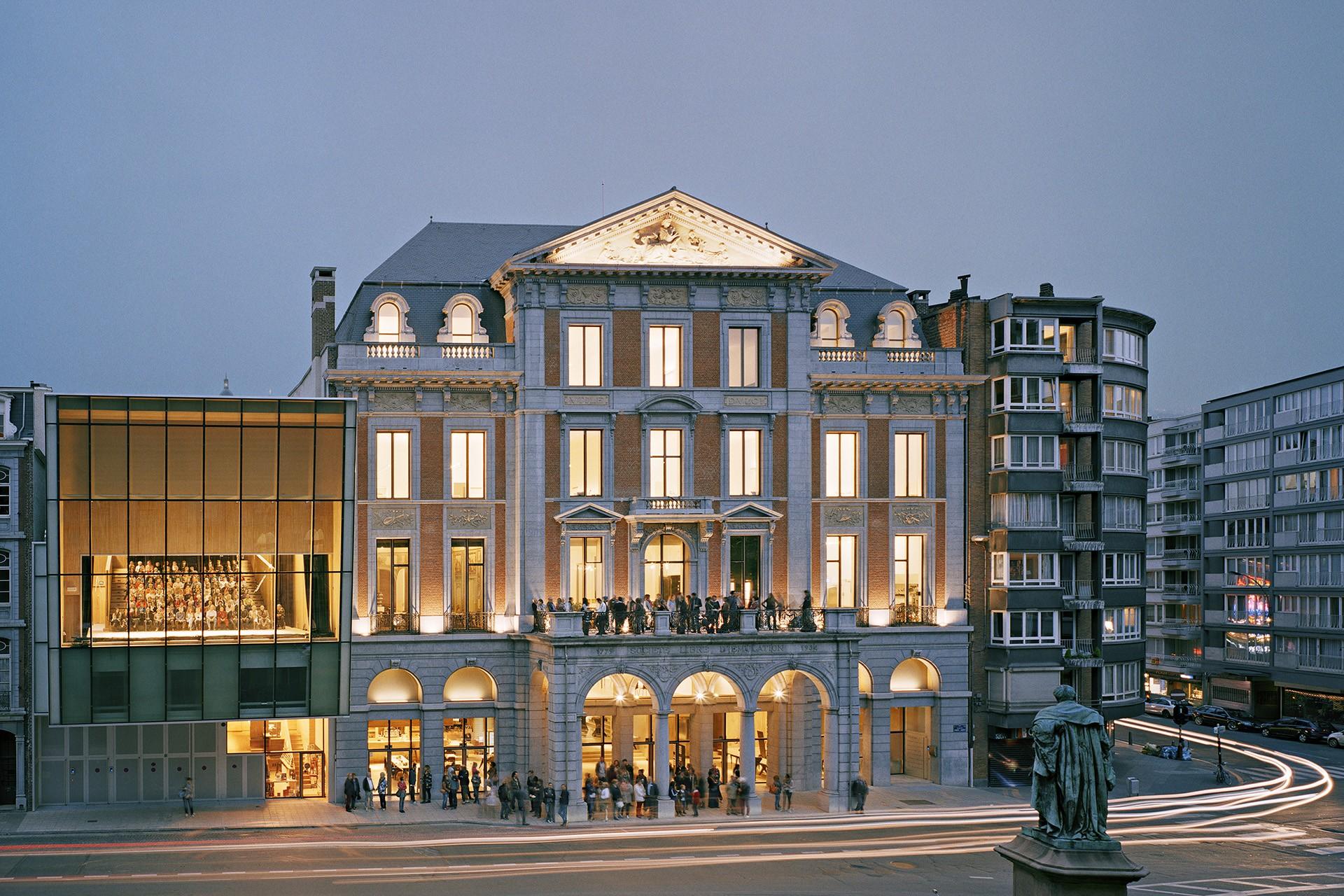 Théâtre de Liège - Façade