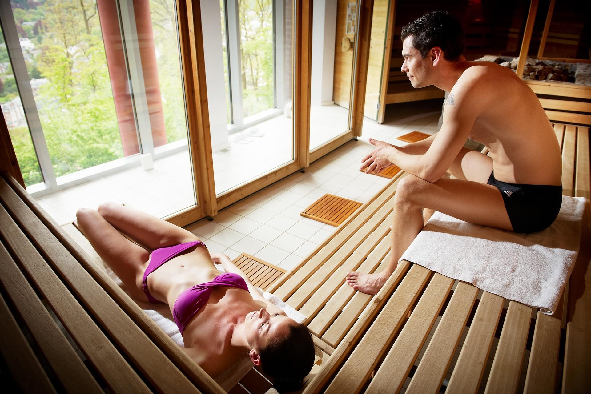 Thermes de Spa - Sauna