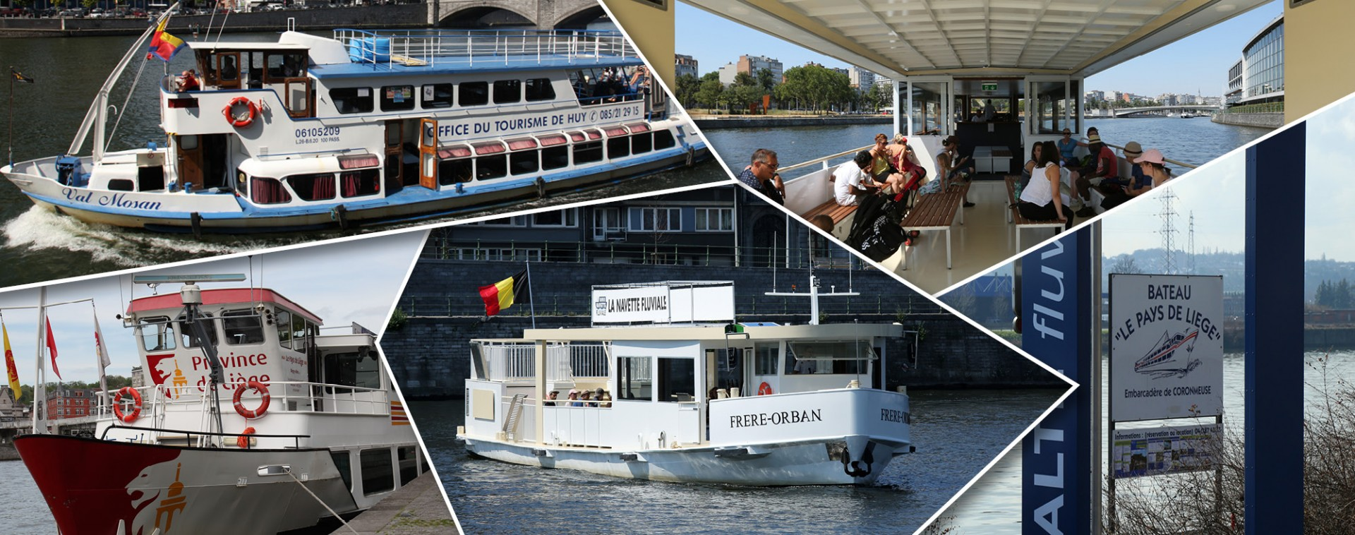 Tourisme fluvial en province de Liège | © FTPL - Patrice Fagnoul