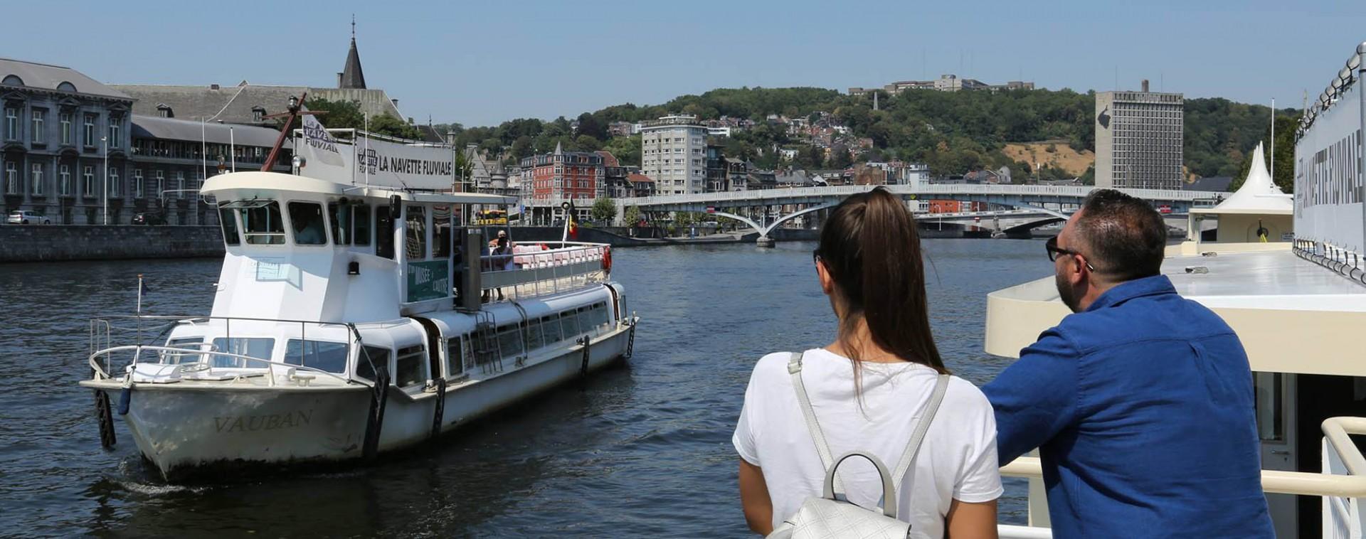 Flusstourismus in der Provinz Lüttich | © FTPL-Patrice Fagnoul