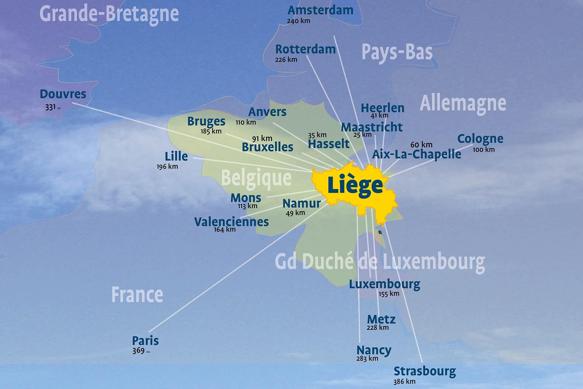 Une situation géographique exceptionnelle sur l'Europe