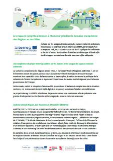 Projet AGRETA - Semaine européenne des Régions et des Villes