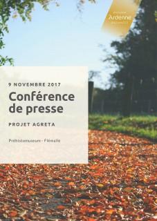 Conférence de presse - Projet AGRETA