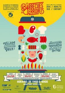 Les Barbecues du terroir - Affiche