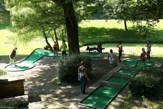 Mini-golf à Wégimont @FTPL P. Fagnoul