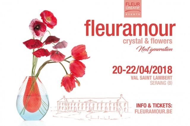 Exposition Fleuramour - Crystal & Flowers à Seraing | © fleuramour - Rekad Produkties