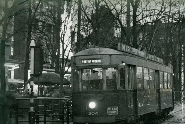Exposition : Il y a 50 ans, la fin du tram vert à Liège | © H.Magotte