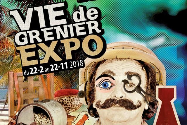 Exposition Vie de Grenier - Verviers | ©