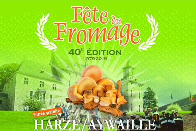 Internationaal kaasfeest Harzé 2019 | © Fête du Fromage