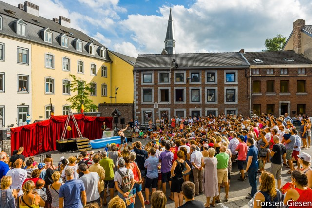 Straattheaterfestival - Rue du Bocage - Herve | © Torsten Giesen