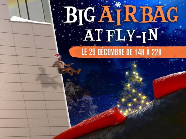 Saut Airbag - Fly-In | © Fly-in