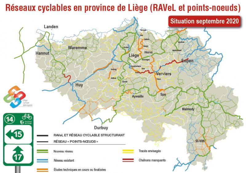 Visualisez le réseau points-noeuds en Province de Liège (toutes les cartes)