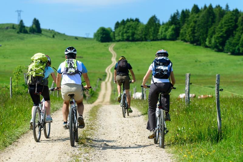Balade cycliste dans la région de Spa