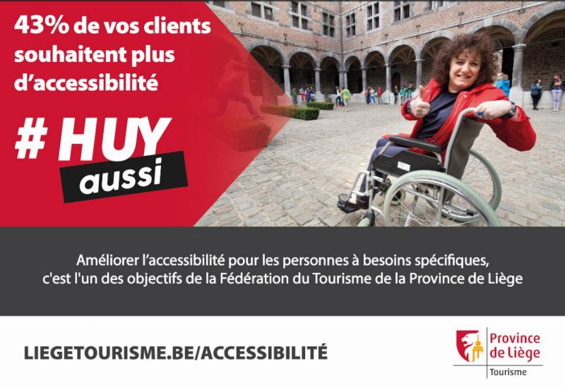 43% de la population veut plus d'accessibilité
