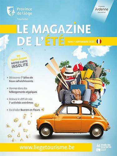 Couverture du Magazine de l'Été