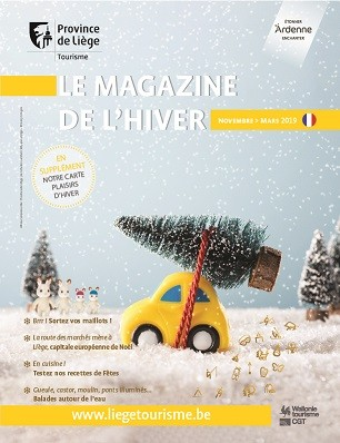 Couverture du Magazine de l'Hiver 2018-2019