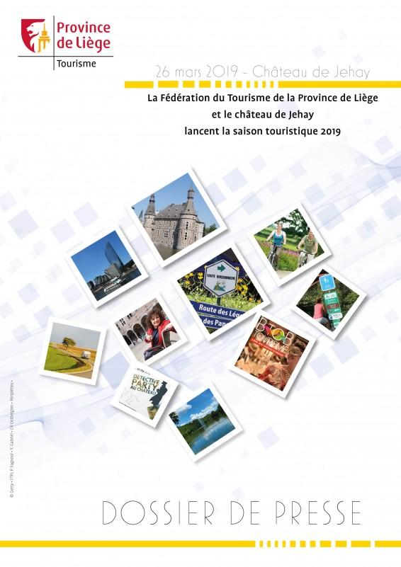 DOSSIER DE PRESSE - Lancement de la saison touristique 2019