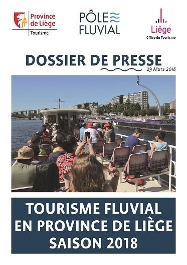Dossier de presse - Tourisme fluvial en province de Liège Saison 2018