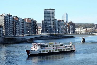 Le bateau Pays de Liège ©FTPL P.Fagnoul