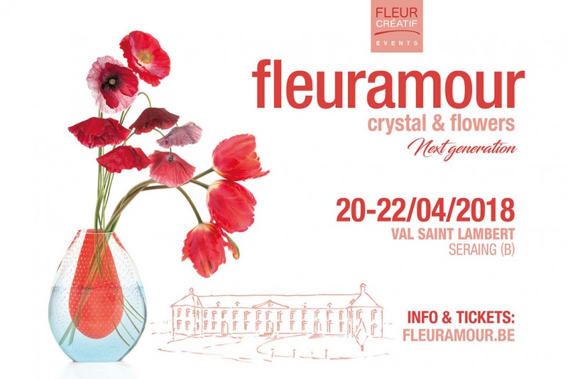 Exposition Fleuramour - Crystal & Flowers à Seraing